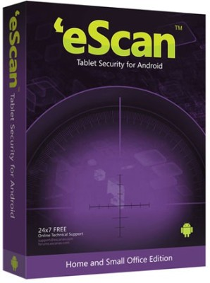 eScan Tablet Security For Android 1 User 1 Year