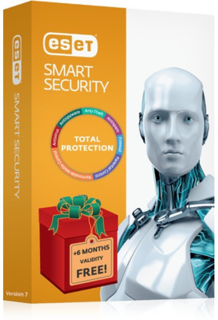 ESET Smart Security Antivirus 1 PC 1 Year  12+6 Months Offer  available at Flipkart for Rs.699