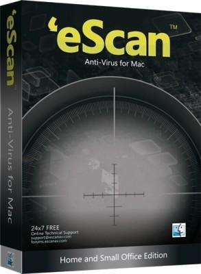 eScan Anti Virus for Mac 1 PC 1 Year