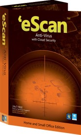 eScan Anti Virus with Cloud Security 3 PC 1 Year