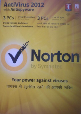 Buy Norton AntiVirus 2012 3 PC 1 Year: Security Software