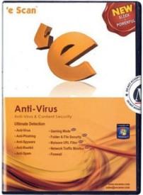 eScan Anti-virus 4PC-1Y