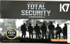 K7 Total Security 1 Pc 1 Year(Paper License Only)