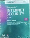 Kaspersky Internet Security 2015 3 PC 1 Year: Security Software