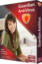 Guardian Anti Virus 2013 1 PC 1 Year: Security Software