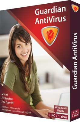 Buy Guardian Anti Virus 2013 1 PC 1 Year: Security Software