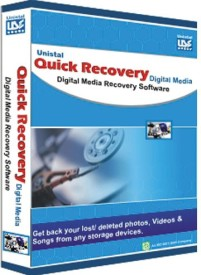 Quick Recovery For Digital Media/ Photo, Digital Media Recovery Software