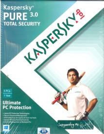 Kaspersky Pure 3.0 Total Security 5 PC 1 Year