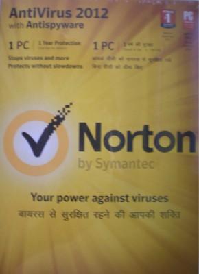 Buy Norton AntiVirus 2012 1 PC 1 Year: Security Software