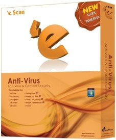eScan Anti-Virus 5 PC 1 Year