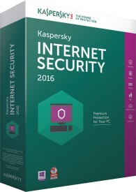 Kaspersky Internet Security 2016 1 Pc 3 Year Installation Cd & 1095 Days Valid Serial key