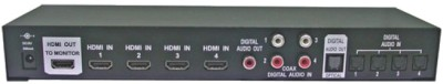 Buy Octava 4x1 HDMI Switch Selector Box: Selector Box