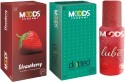 Moods Strawberry & Dotted With Lube - Pack Of 3