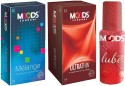 Moods Melange & Ultrathin Combo 2 With Lube - Pack Of 3