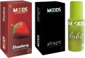 Moods Strawberry & Allnight With Lube - Pack Of 3