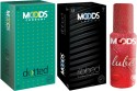 Moods Dotted & Ribbed Combo With Lube - Pack Of 3