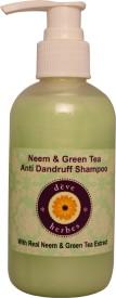 Deve Herbes Neem & Green Tea Anti Dandruff Shampoo - 200 Ml