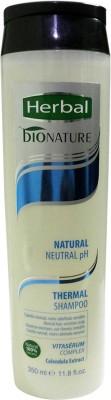 Herbal Bionature Normal pH Thermal Shampoo