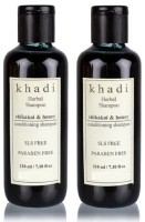 Khadi Herbal Shikakai & Honey Conditioning Shampoo (SLS,Sulfate & Paraben Free) (420 Ml)