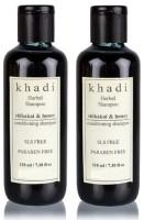 Khadi Herbal Shikakai & Honey Conditioning Shampoo (SLS,Sulfate & Paraben Free) (420 Ml)