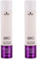 Schwarzkopf Bc Smooth Shine Shampoo (250 Ml) (Pack Of 2) (500 Ml)