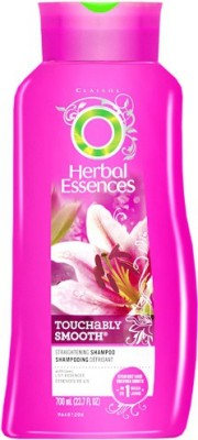 Herbal Essence Touchably Smooth Straightening Shampoo