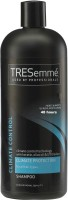 TREsemme Climate Protection Fights Humidity And Static For 48h With Keratin Olive & Uv Blend Shampoo (828 Ml)
