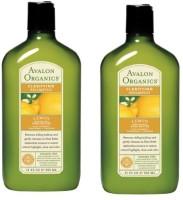 Avalon Organics Lemon Shampoo (Pack Of 2) (650 Ml)