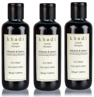 Khadi Herbal Shikakai & Honey Conditioning Shampoo (SLS,Sulfate & Paraben Free) (630 Ml)