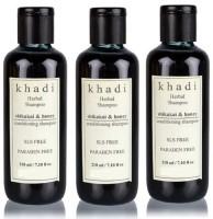 Khadi Herbal Shikakai & Honey Conditioning Shampoo (SLS,Sulfate & Paraben Free) (630 Ml)