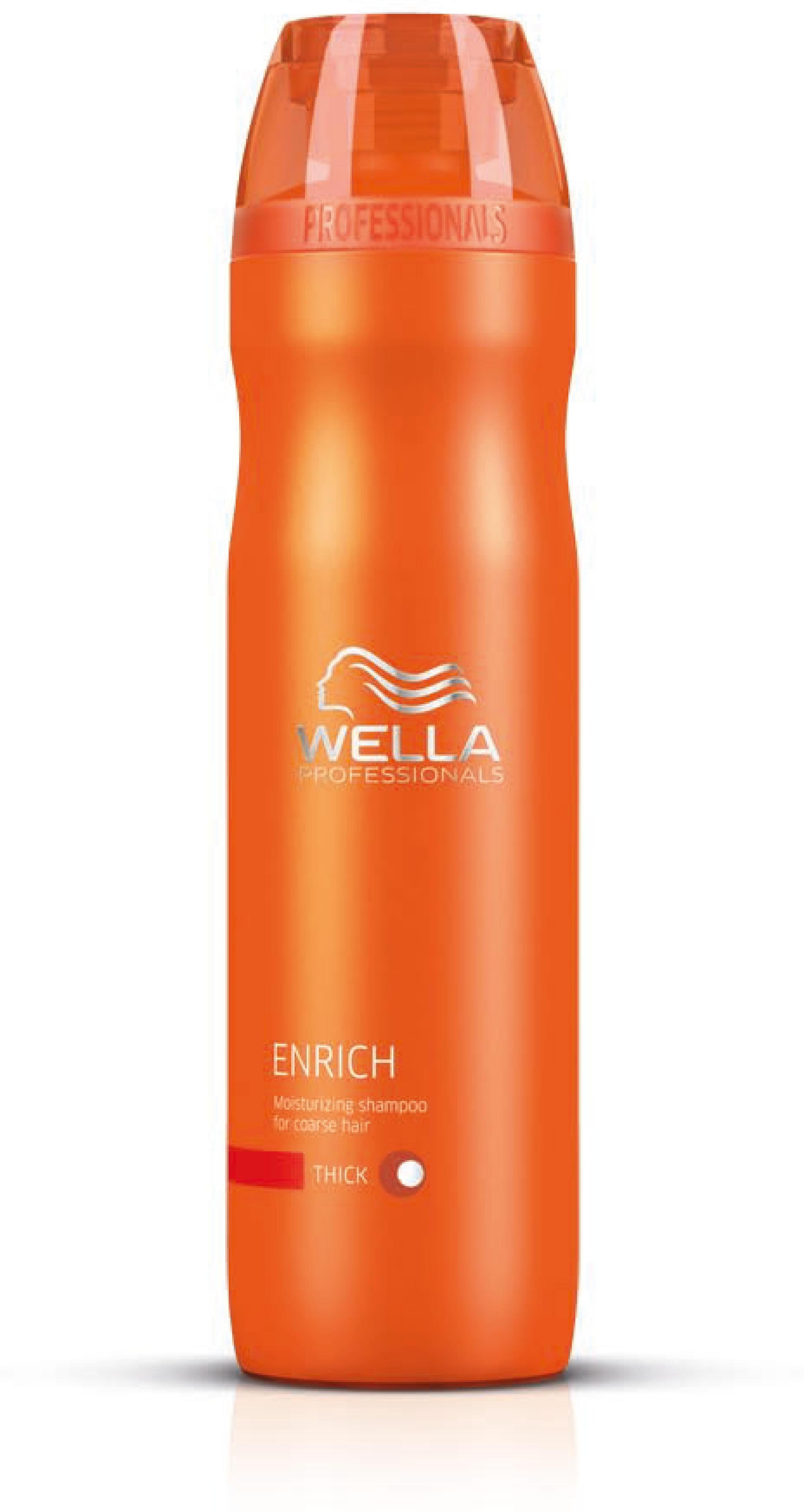 wella enrich moisturizing shampoo for dry damaged hair. Black Bedroom Furniture Sets. Home Design Ideas