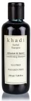 Khadi Herbal Shikakai & Honey Conditioning Shampoo (SLS,Sulfate & Paraben Free) (210 Ml)