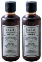 Khadi Herbal Shikakai Shampoo (420 Ml)