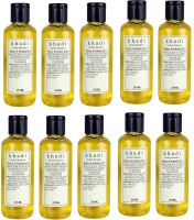 Khadi Herbal Honey & Lemon Juice Pack Of 10 (2100 Ml)