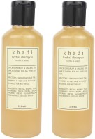 Khadi Harbal Shampoo ( Reetha & Honey) Pack Of 2 (420 Ml)