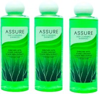 Assure Deep Cleansing Shampoo (Pack Of 3) (200 Ml)