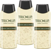 Trichup Healthy Long & Strong Herbal Hair Shampoo ( 200 Ml) (Pack Of 3) (200 Ml)