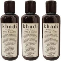 Khadi Herbal Amla And Reetha Shampoo - Tripack (630 Ml)