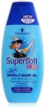 Schwarzkopf Professional Supersoft Kids Shampoo and Shower Gel