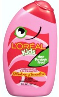 L'Oreal Paris Kids 2-In-1 Shampoo For Extra Softness, Strawberry Smoothie (Pack Of 3) (265 Ml)