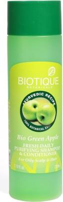 Biotique Bio Green Apple Fresh Daily Purifying Shampoo & Conditioner - 210 Ml