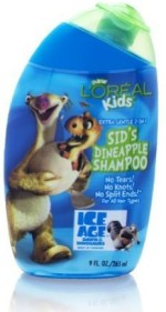 L' Oreal Paris Professionnel Kids Ice Age Sids Dineapple Shampoo Extra Gentle 2 In 1 Hair Shampoos