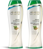 Jovees Henna & Ginseng Anti Hair Loss Shampoo (500 Ml)