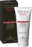 Bottega Di Lungavita Vita Age Uomo Shampoo Shower Gel Regenerating (200 Ml)