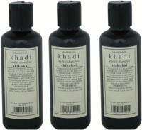 Parvatiya Gramodhyog Khadi Herbal Shikakai Shampoo Pack Of 3 (630 Ml)