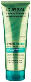 Loreal Everstrong Fortifying & Vitality Shampoo For Fragile Hair & Delicate Scalp