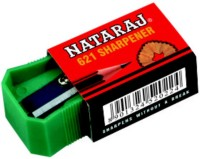 Nataraj 621 Single Pencils Sharperners (Set Of 100, Green)