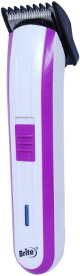 Brite Chargeable BHT 590 Trimmer For Men (Purple)