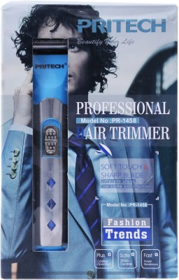 PRITECH Beard PR-1458 Trimmer For Men (blue)