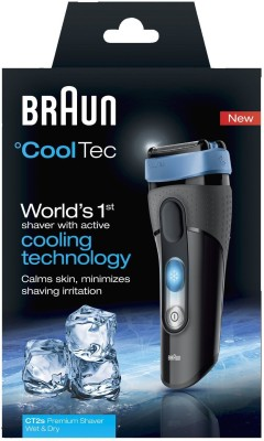 Braun Cooltec CT2S Shaver For Men (Black)